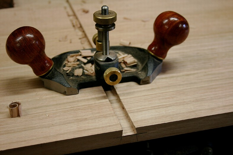 how to cut a stopped dado by hand
