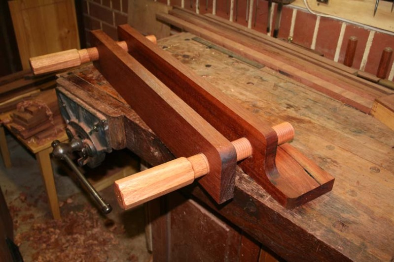 ... bench top (than attaching it at theupper side of the vise, per se