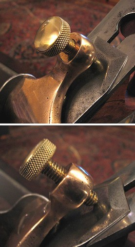 So Ron, is the levercap screw actually resting on the chipbreaker at ...