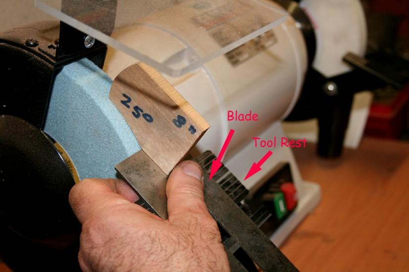 bench grinder angle setting jig 3